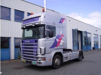 SCANIA R124LA4x2NA470 - tractor truck