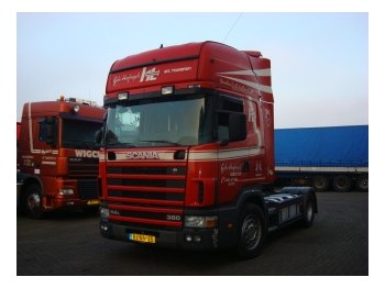 Scania R114LA 380 TOPLINER/RETARDER/MANUEL GEARBOX - tractor truck