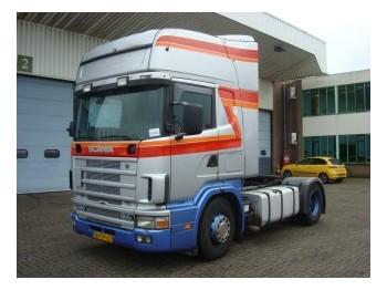Scania R124-400 TOPLINER/RETARDER/MANUEL GEARBOX - tractor truck