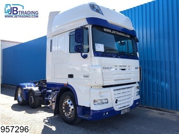 DAF 105 XF 460 SSC, RHD, EURO 5, 6x2, Adjustable Dish, Airco - tractor unit