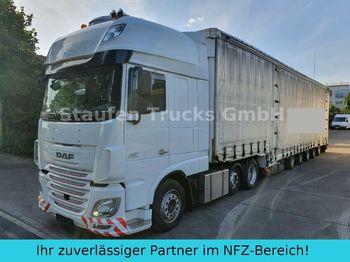Tractor unit DAF 106 510 SSC MEGA ZUG Schwerlast 8 Achsen DINKEL