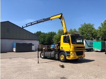 DAF 85.340 KRAN - PALFINGER PK 16500 - 5x EXTENDABLE - NL TRUCK - TOP - tractor unit