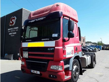 Tractor unit DAF 85 CF 410 Spacecab manual intarder