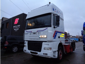 Tractor unit DAF 95 XF 480 Superspacecab manual Robson drive