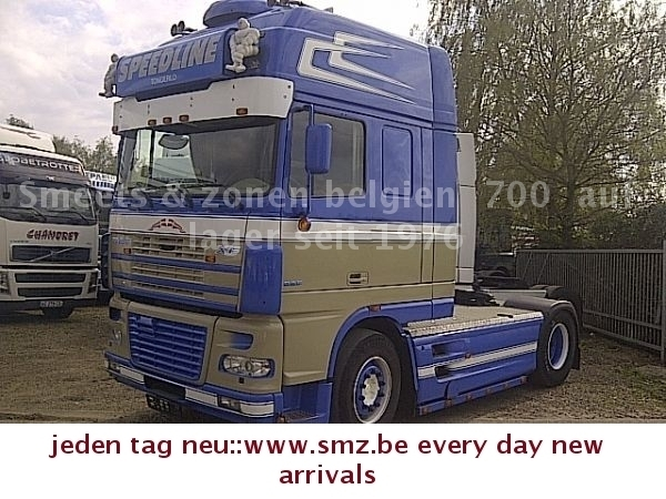 daf 95 xf 530 superspace showtruck tractor unit from. Black Bedroom Furniture Sets. Home Design Ideas