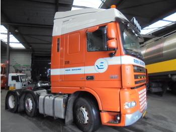 Tractor unit DAF FTG XF105-410 6X2 ENGINE BROKE