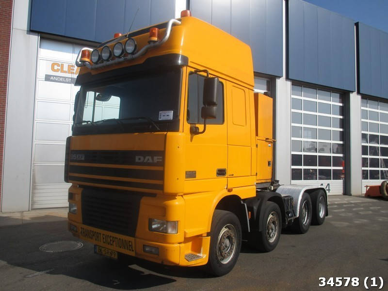 daf ftm 95 xf 530 8x4 retarder manual tractor unit from. Black Bedroom Furniture Sets. Home Design Ideas