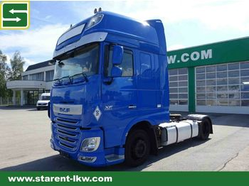 Tractor unit DAF FT XF 460 SSC, Low Deck, Euro 6, Retarder, Stand