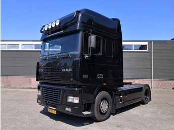 DAF XF95-430 4x2 SuperSpaceCab Euro2 507.000km! Origineel! Zwart Metallic! UNIEK - tractor unit