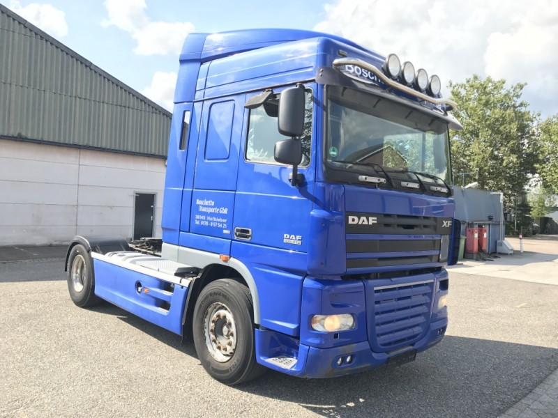 DAF XF 105.410 SC - OLD/ANALOG TACHO - MANUAL - EURO 5 - GERMAN ...