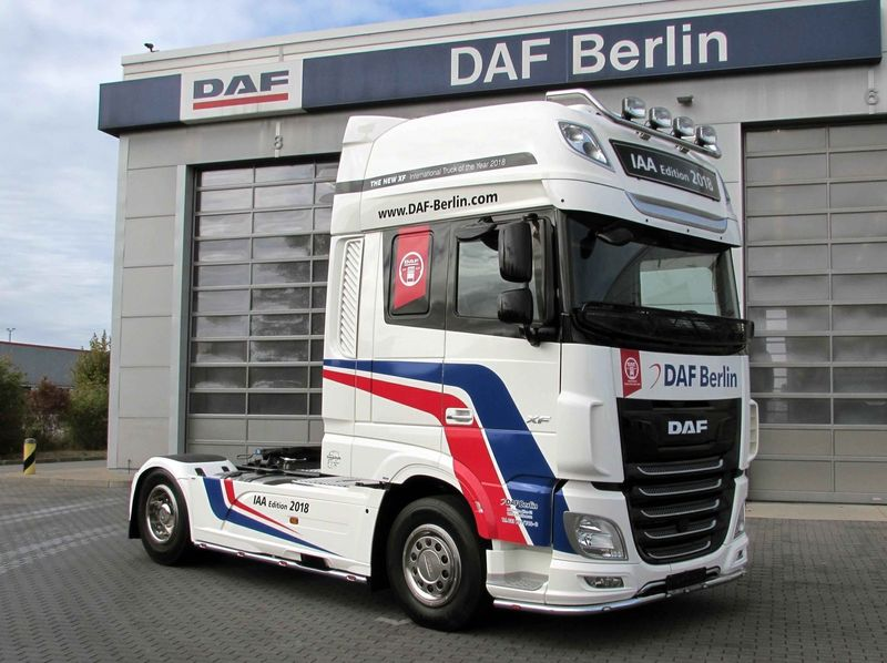 Tractor unit DAF XF 480 FT SSC, TraXon, Intarder, Euro 6 - Truck1 ID:  3257606