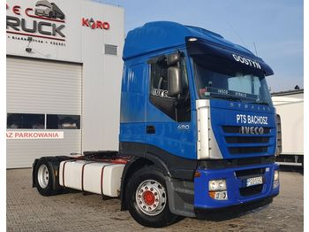 IVECO Stralis 480, Steel /Air, Automat, CURSOR 13 - tractor unit