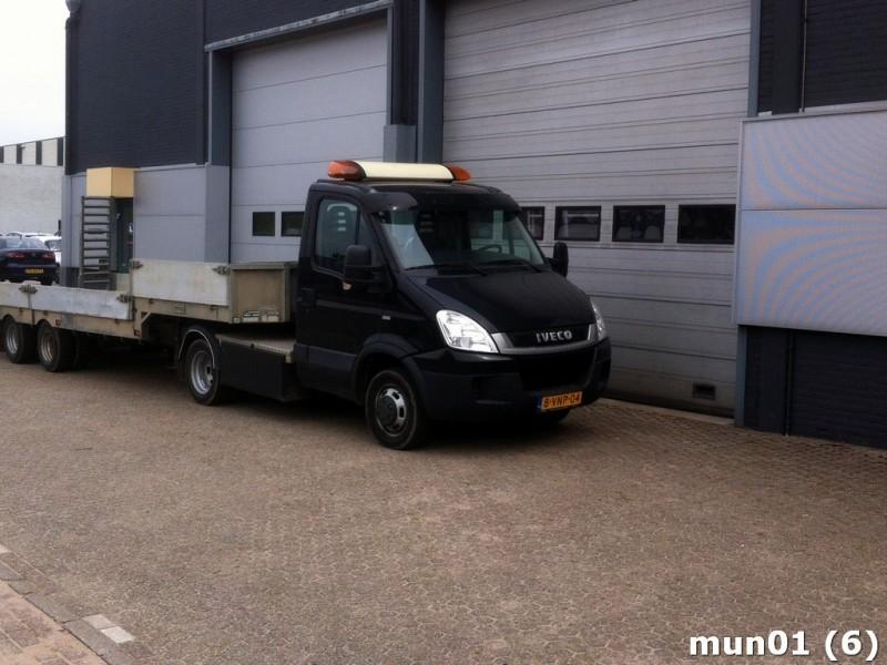Goede Iveco Daily 40c18 BE trekker met oplegger tractor unit from SW-55
