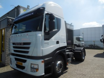 Tractor unit Iveco STRALIS 500 + MANUAL + EURO 5 + NL TRUCK