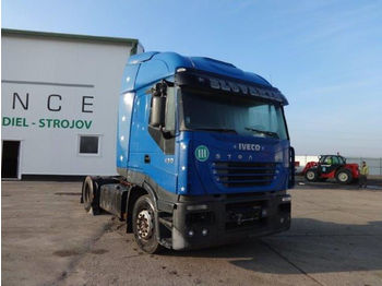Tractor unit Iveco Stralis 430,engine is broken!for spare parts!!