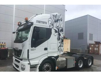 Iveco Stralis 560 cv 6x4 tractor unit Volvo Scania  - شاحنة جرار