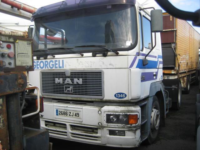 tractor unit MAN F2000 19.343