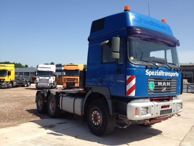 Man fe 460 tractor unit from germany for sale at truck1 id 1072176