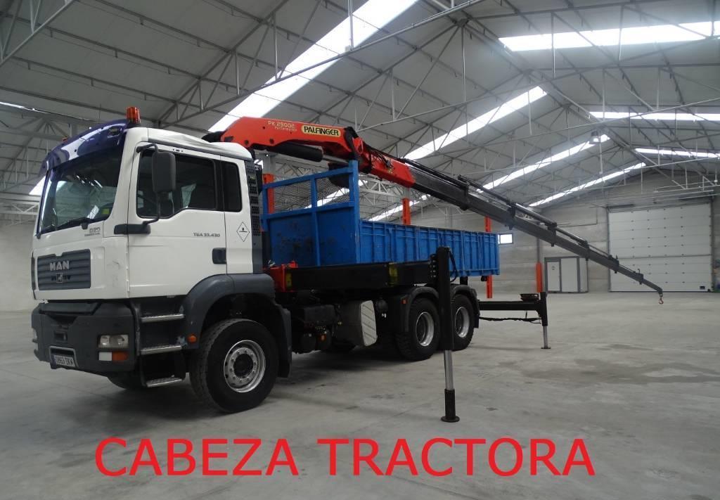tractor unit MAN TGA33.430