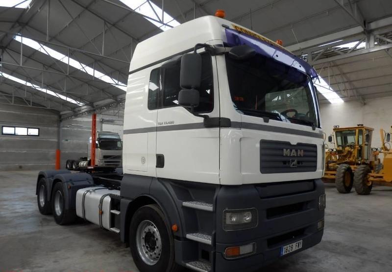 tractor unit MAN TGA33.480