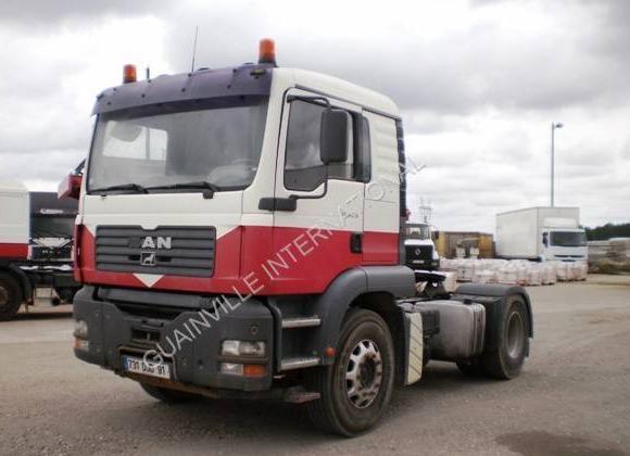 tractor unit MAN TGA 18.410