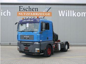 Tractor unit MAN TGA 18.430 4x2 LLS, Hiab 220 C4 Kran