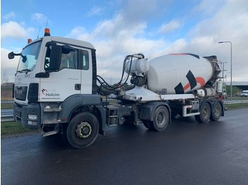MAN TGS 18.400 4x4 + DE BUF 2-axle - tractor unit