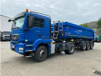 شاحنة جرار MAN TGS 18.480 4x2 BLS SZM Eur5 + Kippauflieger