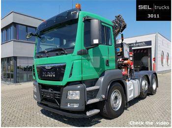 MAN TGS 26.440.6x2/4 KRAN!!  - tractor unit