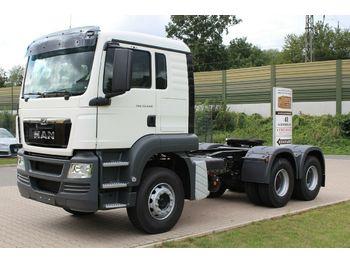 Tractor unit MAN TGS 33440 BBS 6X4  EUROMIX MTP Mischauflieger