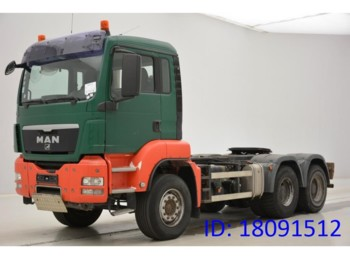 Tractor unit MAN TGS 33.440 M - 6x4 - tractor/tipper double use