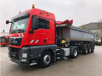 شاحنة جرار MAN TGX 18.440 4x4H SZM - Kipphyd. Euro 6