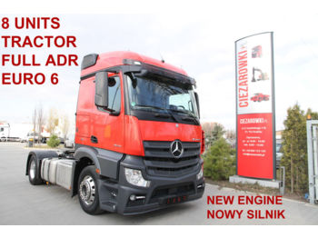 MERCEDES-BENZ ACTROS 1843 LS FULL ADR E6 NEW ENGINE 1 THS. KM - tractor unit
