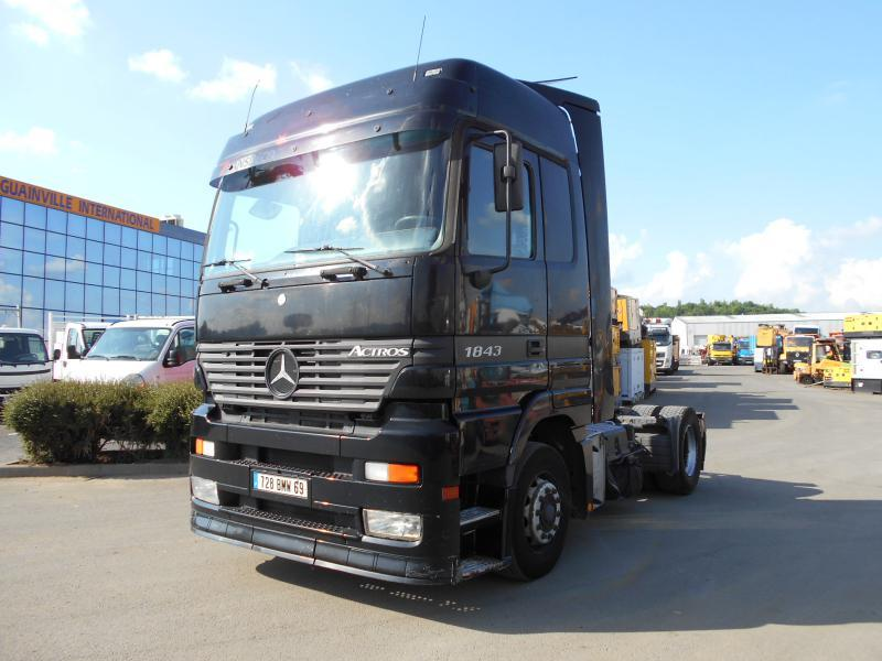 tractor unit Mercedes Actros 1843