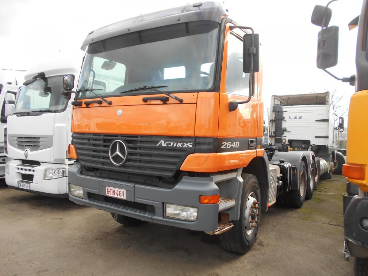 tractor unit Mercedes Actros 2640