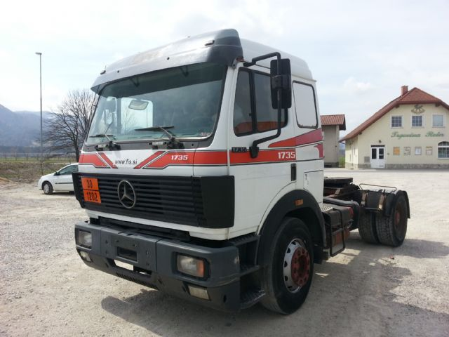 Mercedes benz 1735 ls tractor unit from slovenia for sale for Lb mercedes benz