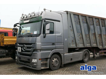 Tractor unit Mercedes-Benz 1846 LS, Megaspace, Kipphydraulik, MP3, Retarder