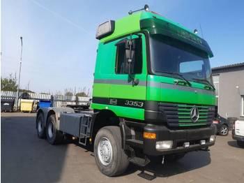 Mercedes Benz ACTROS 3353 AS 6X6 tractor unit - وحدة جر