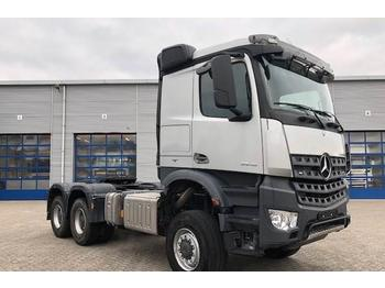Tractor unit Mercedes-Benz AROCS 3345 / MANUAL / 6X6 / HUB-REDUCTION / HYDRAU
