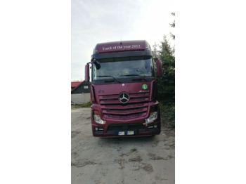 Tractor unit Mercedes-Benz Actros 1845 GigaSpace + Retarder
