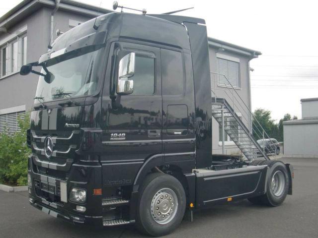 mercedes benz actros 1848 ls black liner tractor unit from. Black Bedroom Furniture Sets. Home Design Ideas