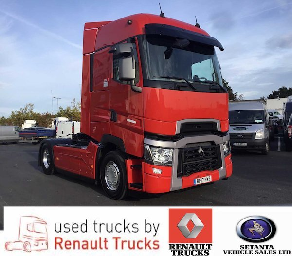 Renault Trucks: RENAULT TRUCKS T520 Maxispace Tractor Unit From Ireland