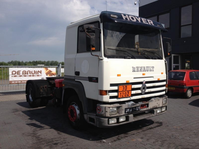 Renault Major 340 Ti Kipper Pto Tractor Unit From