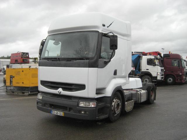 tractor unit Renault Premium 400