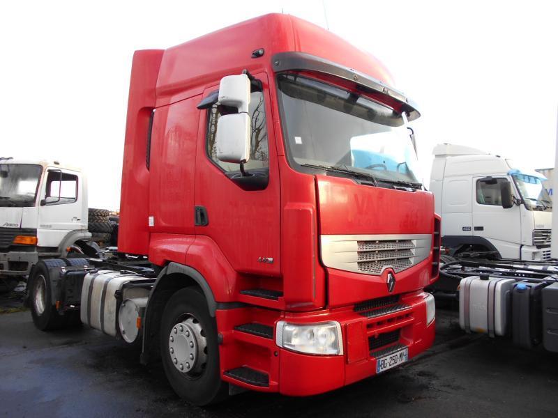 tractor unit Renault Premium 440 DXI