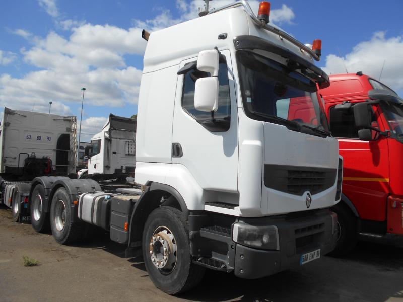 tractor unit Renault Premium Lander 450 DXI