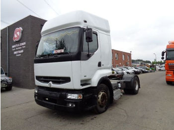 Tractor unit Renault premium 385 manual pump