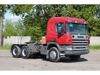 SCANIA 124C 420 - شاحنة جرار