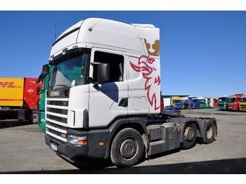 Tractor unit SCANIA 124 420