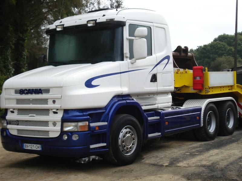 Tractor unit SCANIA torpedo T 580 V8 6x4 - Truck1 ID: 1010775